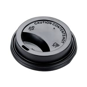 Hot Cup Black Lid For 8 Oz Cup Prime Source Brands